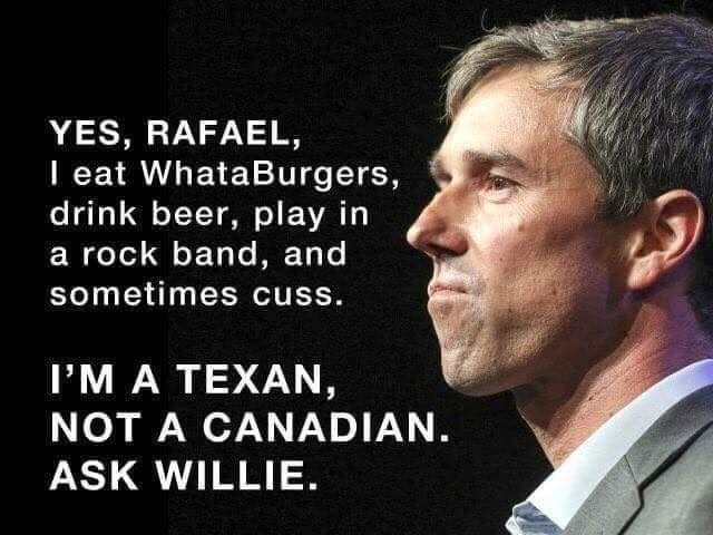 Lyin&#39; @TedCruz is trying to tell people @BetoORourke doesn&#39;t represent Texas values. Let&#39;s fight back with grassroots power. Drop Beto a donation at  http://www. BetoForTexas.com  &nbsp;   today. #TXsenate #RedToBlue <br>http://pic.twitter.com/bETpDO60S1
