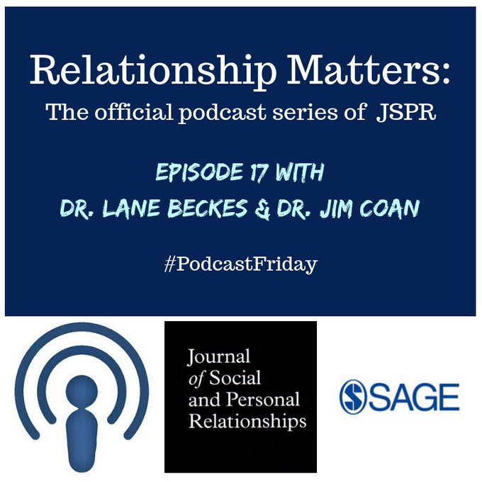#PodcastFriday - Dr. @lane_beckes & Dr. @jimcoan at the University of Virginia discuss correlations in psycho-physiological & brain imaging data, in particular, their own innovative correlational approaches to explore interpersonal empathy & identification Foto