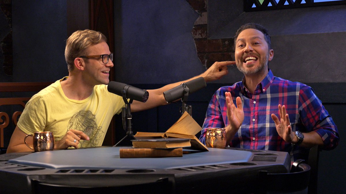 🚨 NEW SHOW ALERT! 🚨We gave @VoiceOfOBrien & @samriegel their own show... and hilarity ensued! #AllWorkNoPlay premieres Friday, 9/28 at 7pm PDT on the Critical Role Twitch channel at twitch.tv/criticalrole! For more info and the official trailer, visit: bit.ly/2O3qzFB