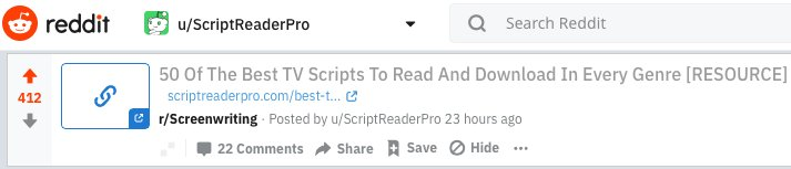 script reader pro on twitter hi zack just want to give you a