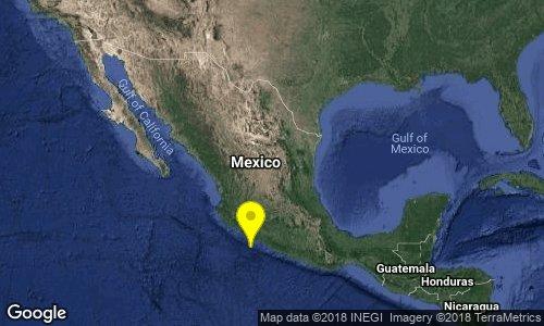 test Twitter Media - SISMO Magnitud 4.3 Loc  80 km al SUROESTE de LA MIRA, MICH 21/09/18 11:38:18 Lat 17.51 Lon -102.85 Pf 12 km https://t.co/DwxgAmft44