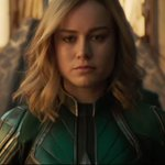 Image for the Tweet beginning: Brie Larson was told Captain