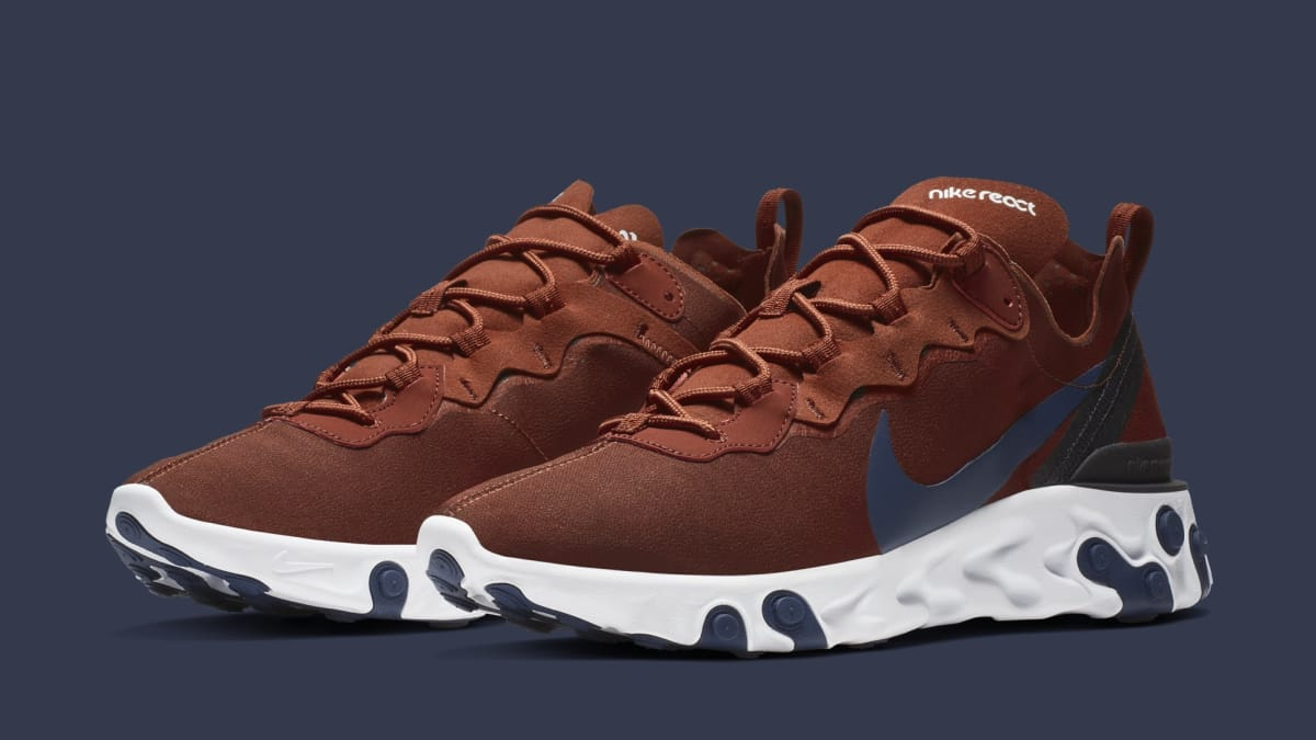 huge discount 4022d 26933 earth tones on the nike react element 55
