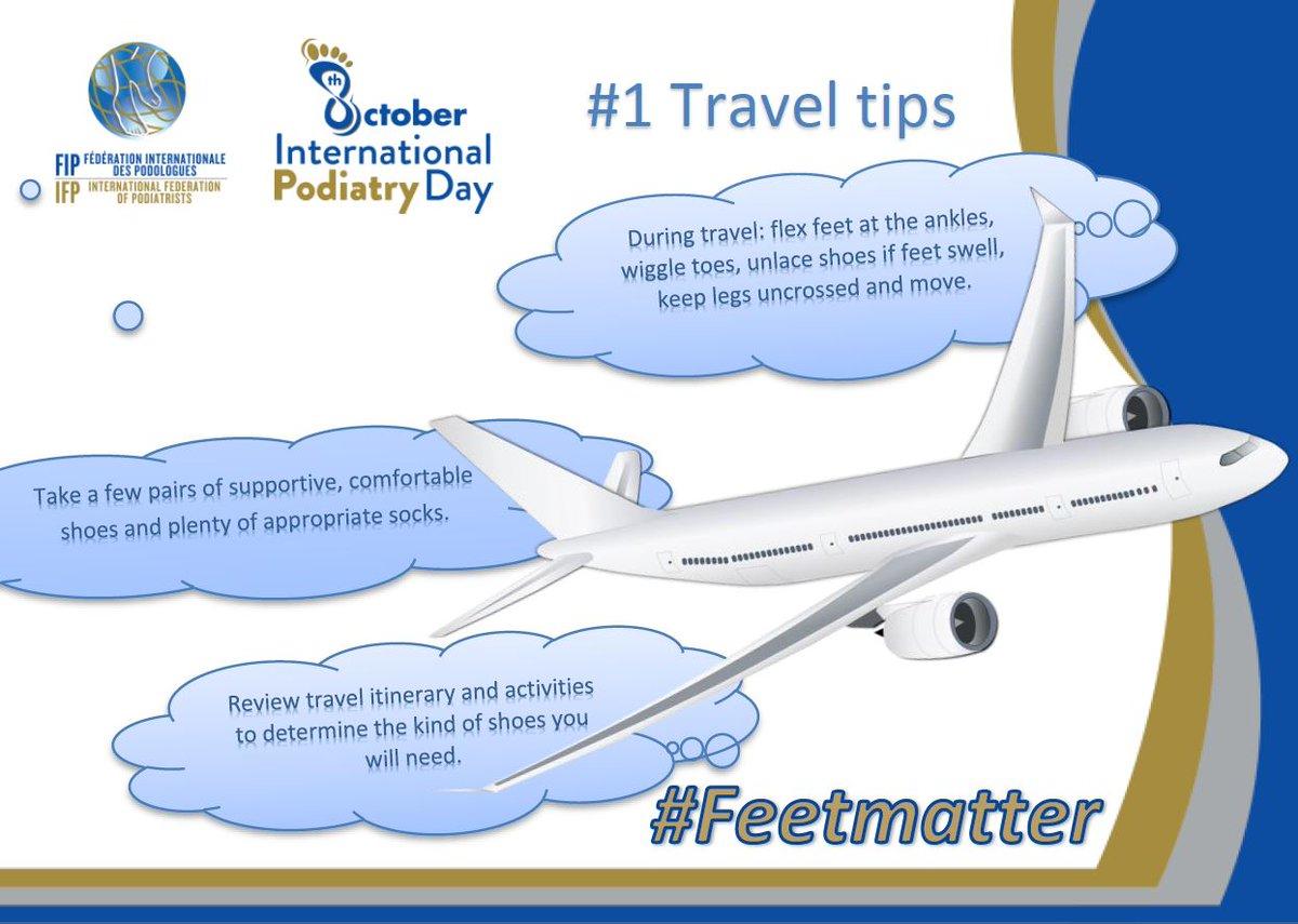 RT @IntPodiatryDay: Feeling like traveling this weekend? #Feetmatter #Podiatry #InternationalPodiatryDay https://t.co/zr3ofuRND2