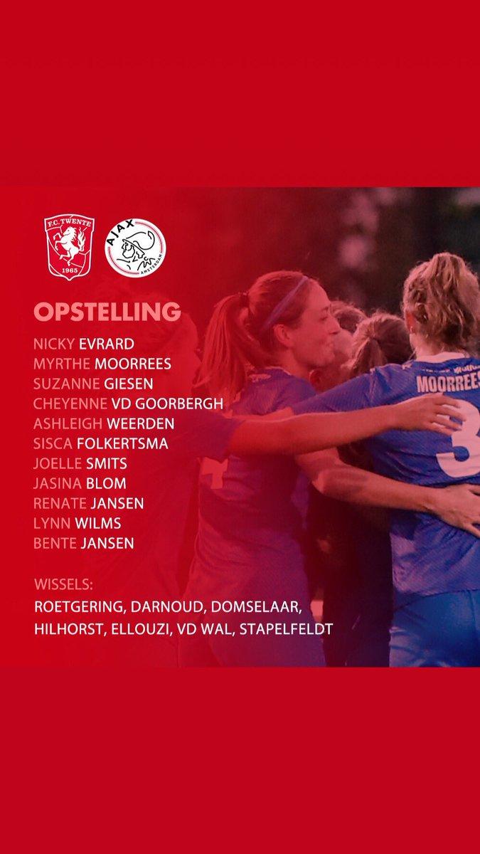 test Twitter Media - 📢 Om 19.30 trappen deze 11 de wedstrijd af 🆚 Ajax Vrouwen.   #fctwentevrouwen #matchday #tweaja https://t.co/cdgksSRa42