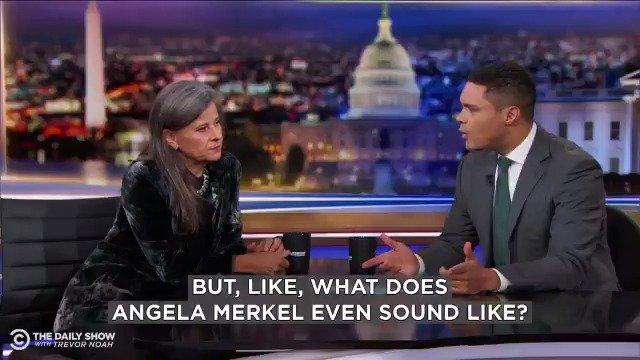 Image for the Tweet beginning: What does an Angela Merkel