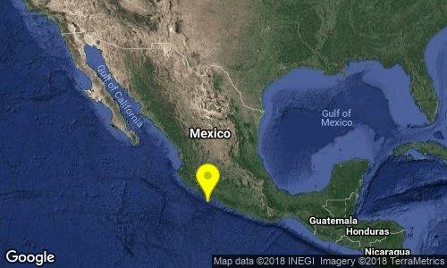 test Twitter Media - SISMO Magnitud 4.1 Loc  57 km al SUROESTE de LA MIRA, MICH 21/09/18 12:17:33 Lat 17.66 Lon -102.70 Pf 16 km https://t.co/bQ436qhQZ5