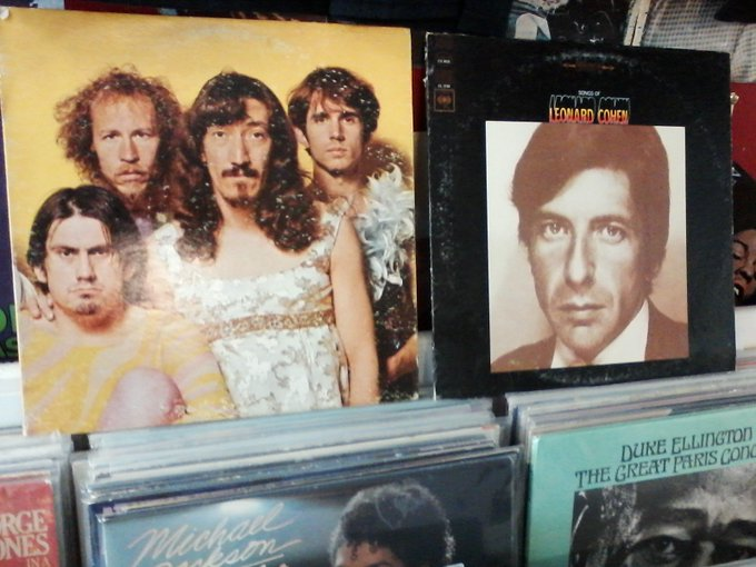 Happy Birthday to Don Preston of the Mothers of Invention & the late Leonard Cohen