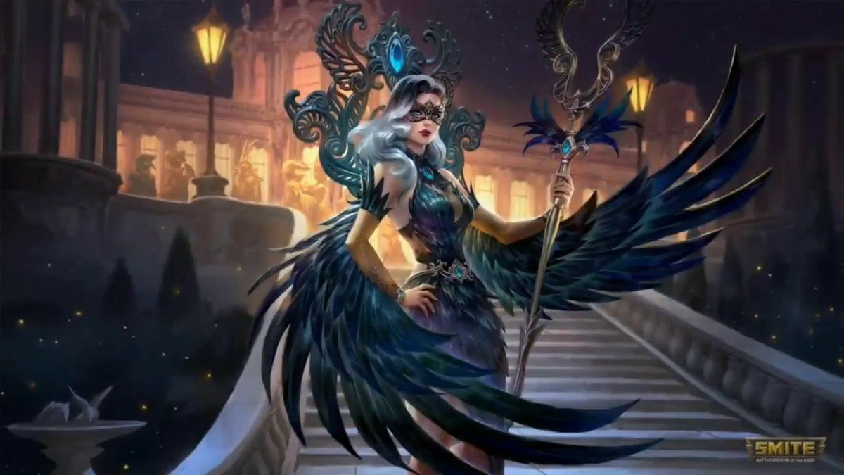 I am giving away the Midnight Raven Isis skin, follow and retweet to enter! Giveaway ends 9/28. Good luck. <br>http://pic.twitter.com/EdM4BhdkL1