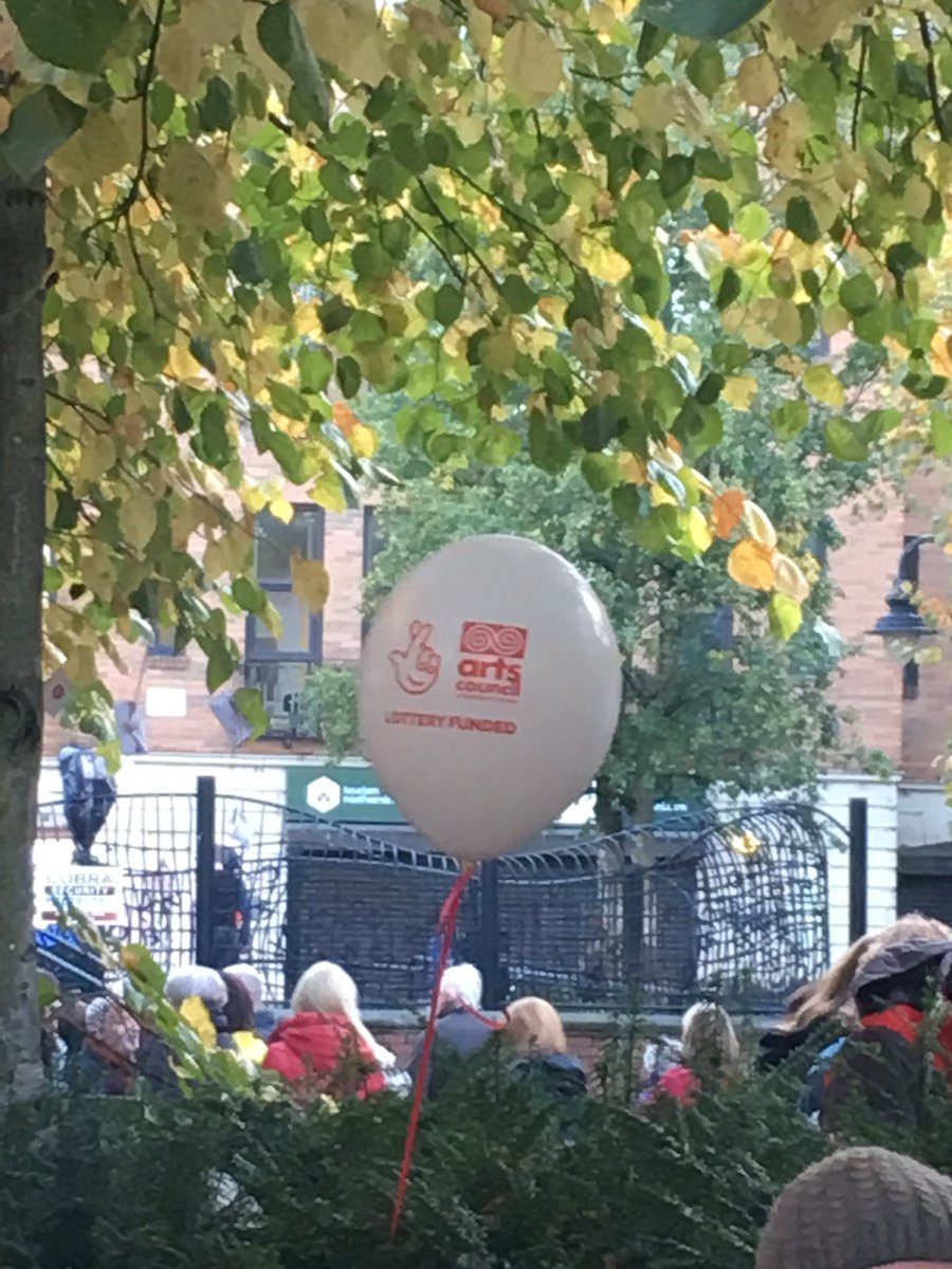 test Twitter Media - In the queue for food and spotted this 🎈 #artsmatterni #culturenightbelfast #CultureNight #NationalLottery #SupportingTheCause w/@_ChrisWrites https://t.co/bWPakPLzwC