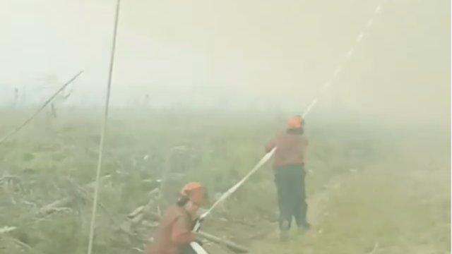 Canada : des pompiers luttent contre une incroyable tornade de feu bit.ly/2NueMAx