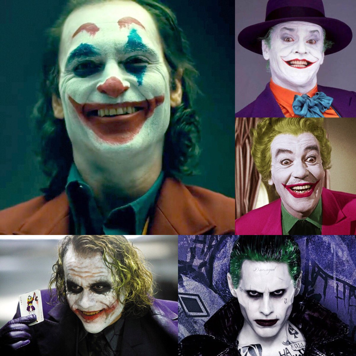 Joaquin Phoenix is the 5th face of the #Joker