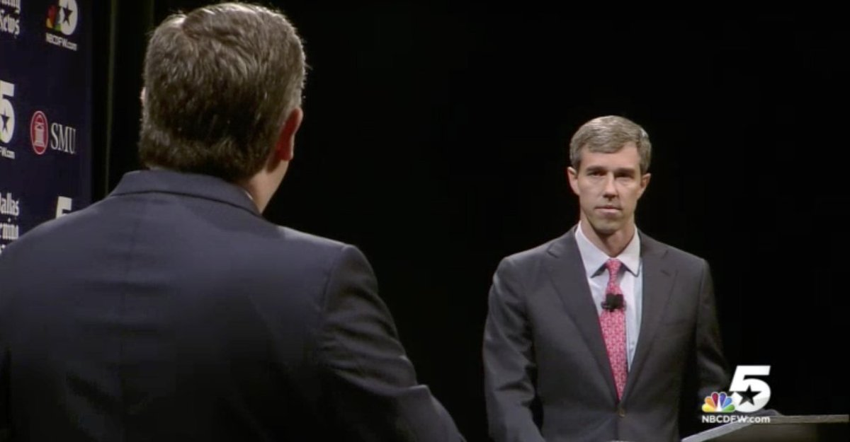 Look how mad Ted got Beto!! LMAO Beto wants to take your guns!!!