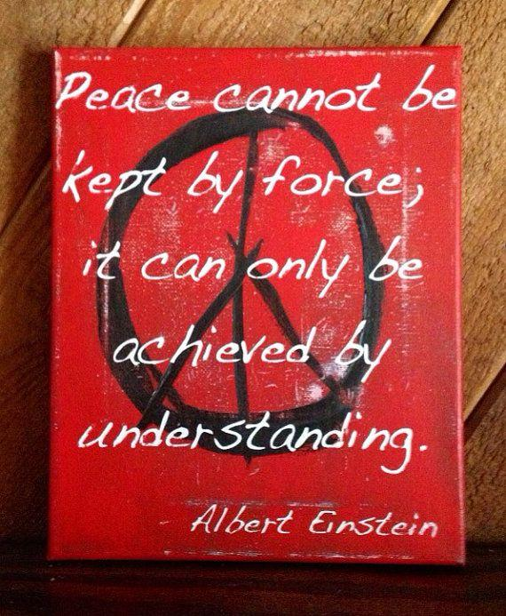 'Peace cannot be kept by force; it can only be achieved by understanding.'  - Albert Einstein.    'Long Walk of Peace' explores peace since the creation of the @UN.  Read it online here 📖 https://t.co/7vZDNZCRS4    #PeaceDay ☮️