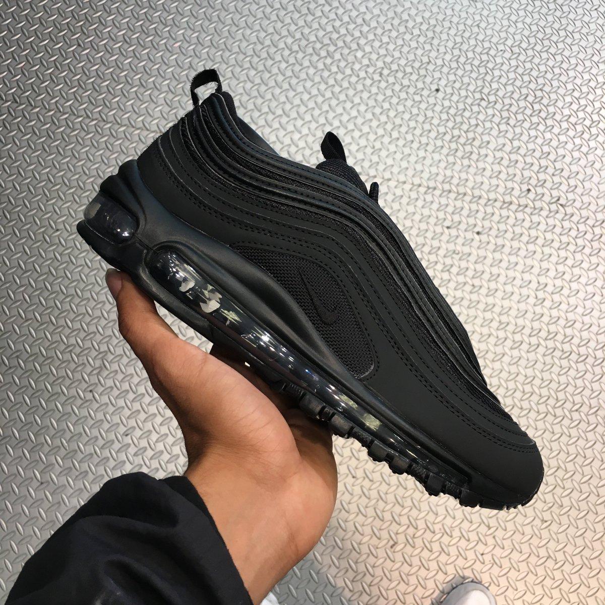 The Nike Air max 97 Triple Black Junior
