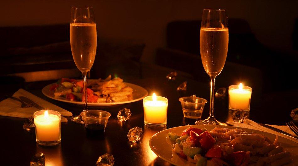 Картинки романтического ужина