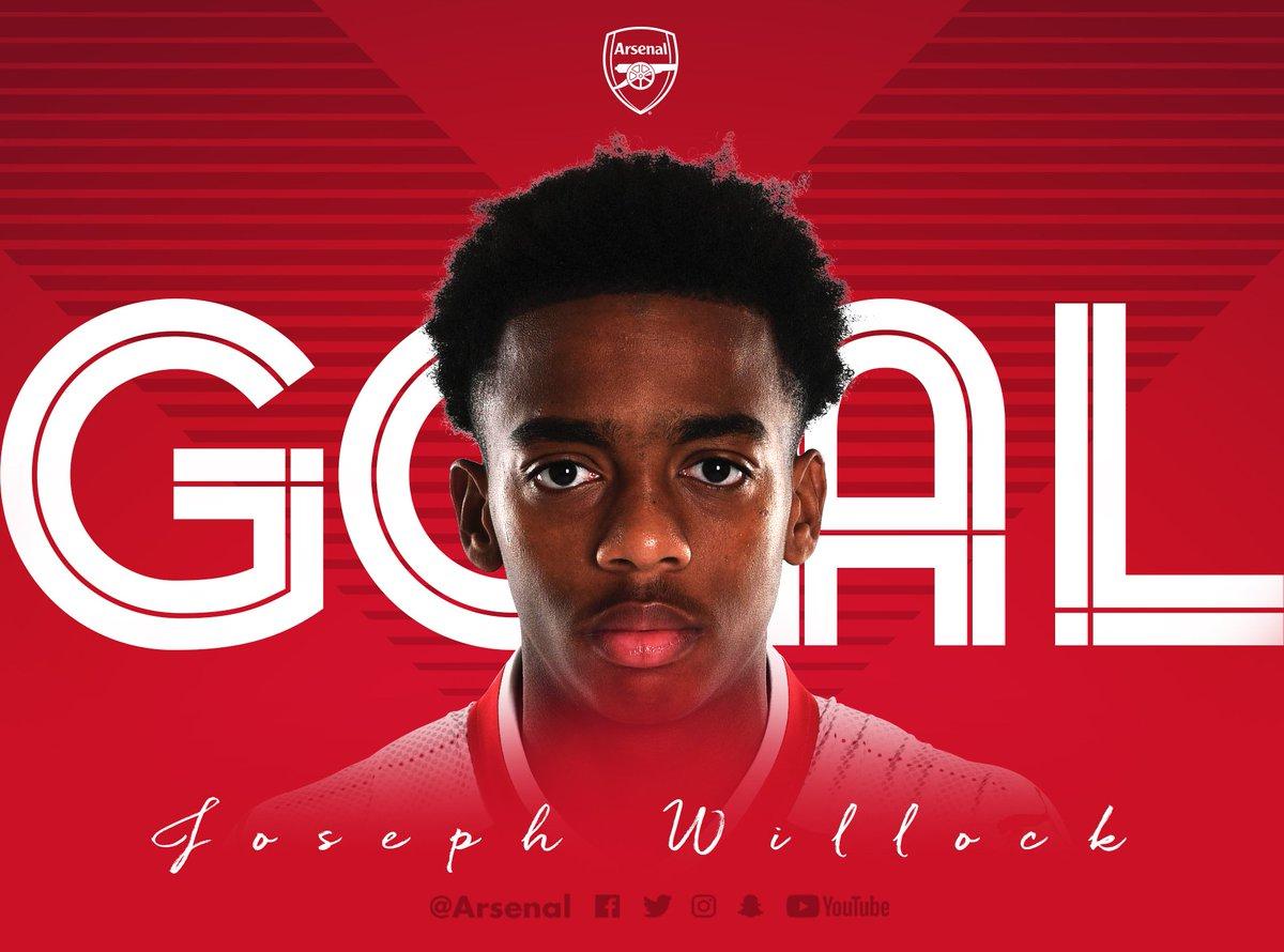 Arsenal Fc Na Twitteru Willock Makes It Three Saka Played