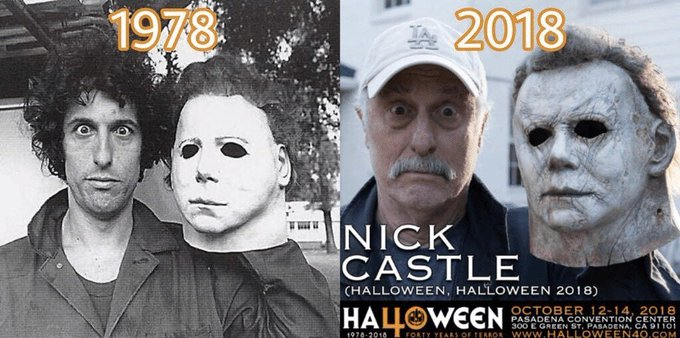 Happy Birthday to actor and director Nick Castle - born on  September 21, 1947!