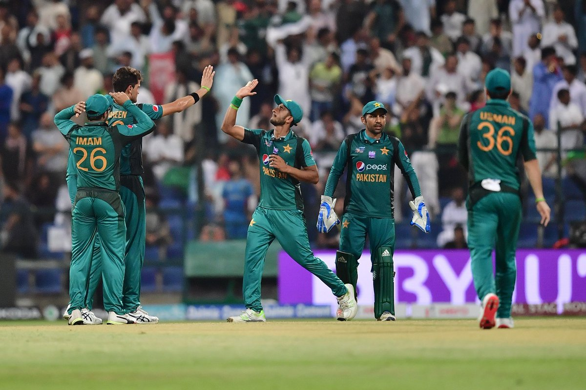 b6cefd1f140 Pakistan win a thriller in Abu Dhabi! Afghanistan are denied a maiden  victory against their
