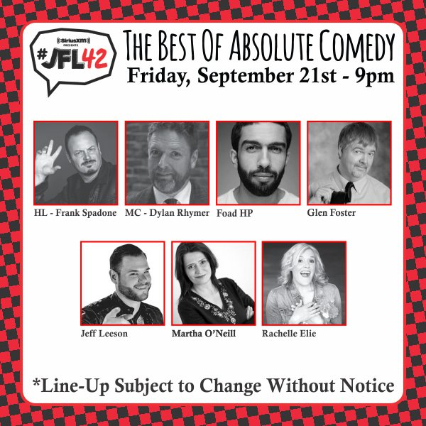 Had a great time doing #JFL42 with my comedy pals!!!!