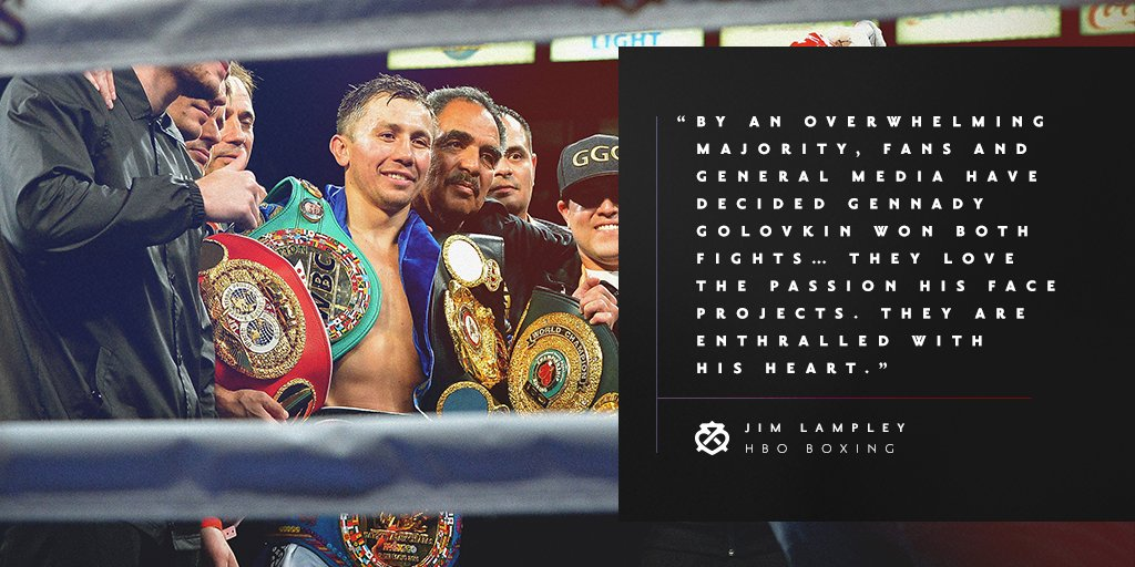 Passion and heart. The mark of the people's champ @gggboxing @hboboxing #GGG #FightForIt #KOInjustice #PeoplesChamp #HBOBoxing