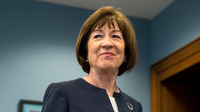 Collins 'appalled' by Trump tweet about Kavanaugh accuser https://t.co/OkkLcf5DWb