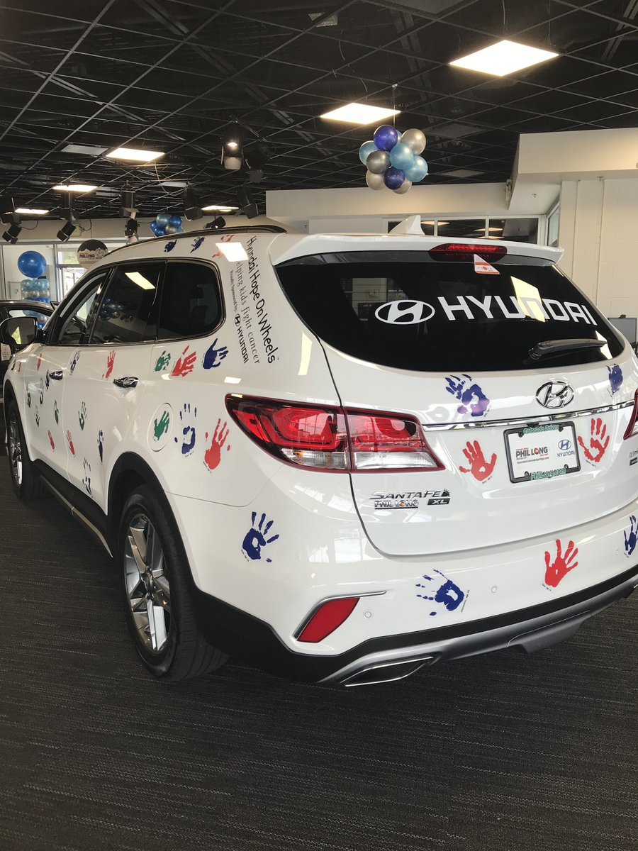 Have You Seen Our Hyundai Hope On Wheels #SantaFe? Stop By And Take A Look!  Want To Know More About Hyundai Hope On Wheels?