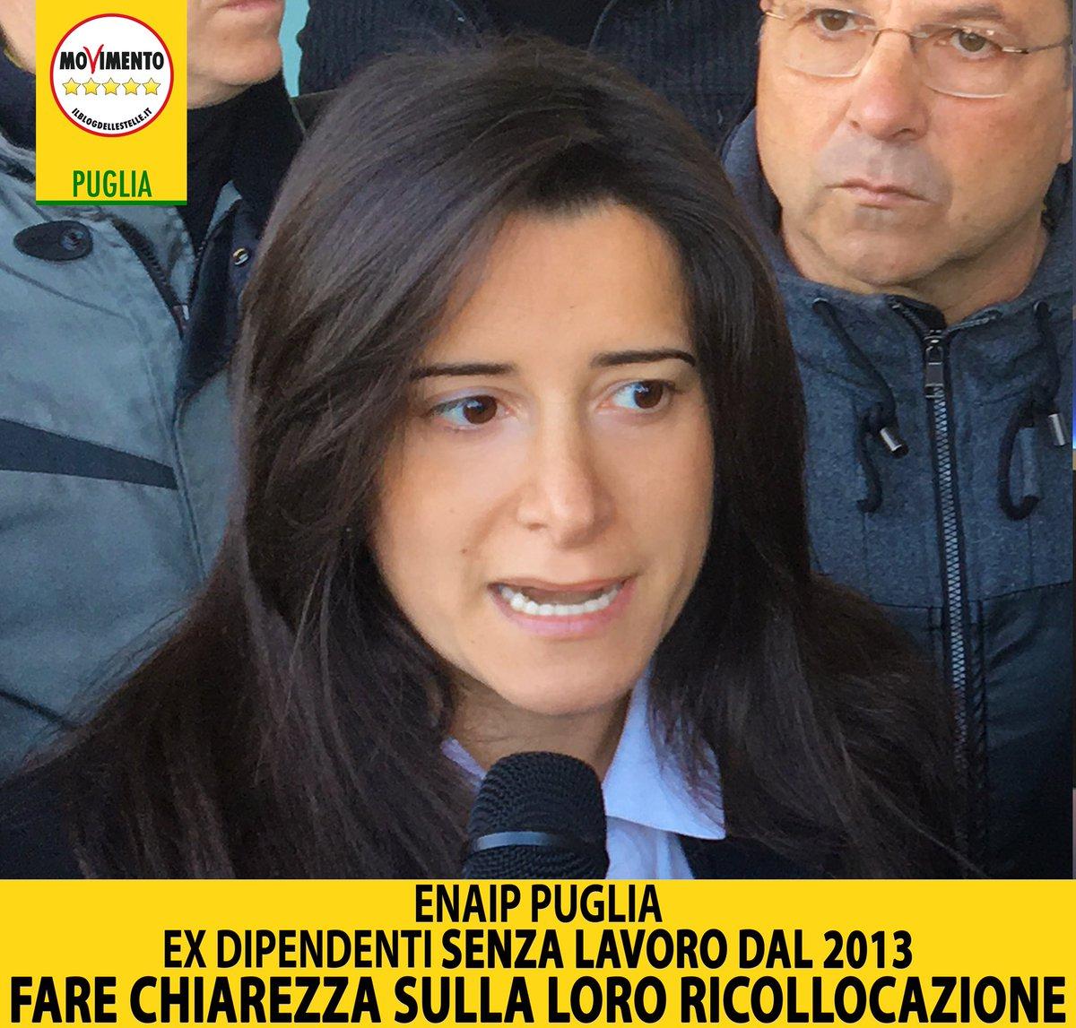 #ENAIP (Ente Nazionale ACLI Istruzione Professionale) #Puglia, ex dipendenti senza lavoro dal 2013.#M5S: fare chiarezza sulla loro ricollocazione.#LavoroLEGGI QUI: https://goo.gl/5W3EjV  - Ukustom