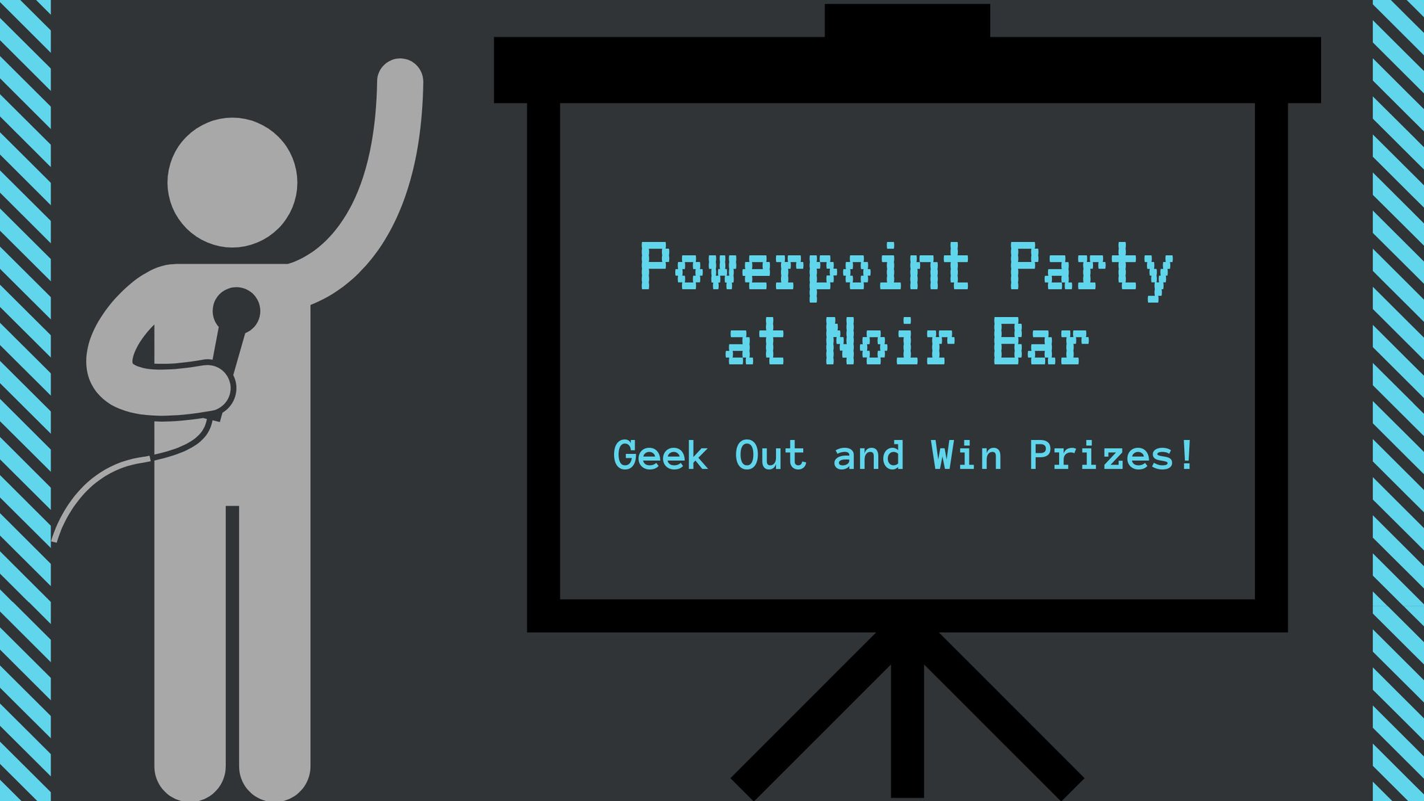 Noir Bar On Twitter Join Us For A Powerpoint Party On