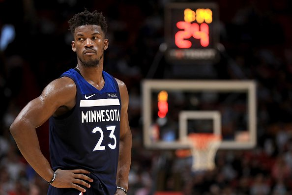 """There's a """"real possibility"""" that Jimmy Butler won't show up at training camp next week if he doesn't get traded, per @APkrawczynski"""