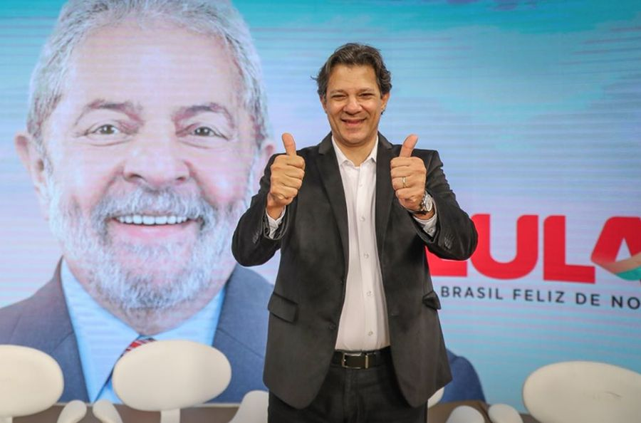 Pesquisa DataPoder360 aponta empate técnico entre Bolsonaro e Haddad https://t.co/igunMfBzkN