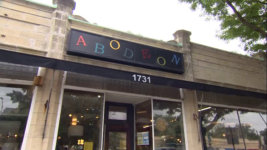 It's still the 50's inside @Abodeon where old treasures become new again. 'We clean them up, restore them, give them a new life. My mother called it getting all the good out of it' Sounds good to us. #vintage @shaynaseymour @anthonyeverett 7:30 #wcvb