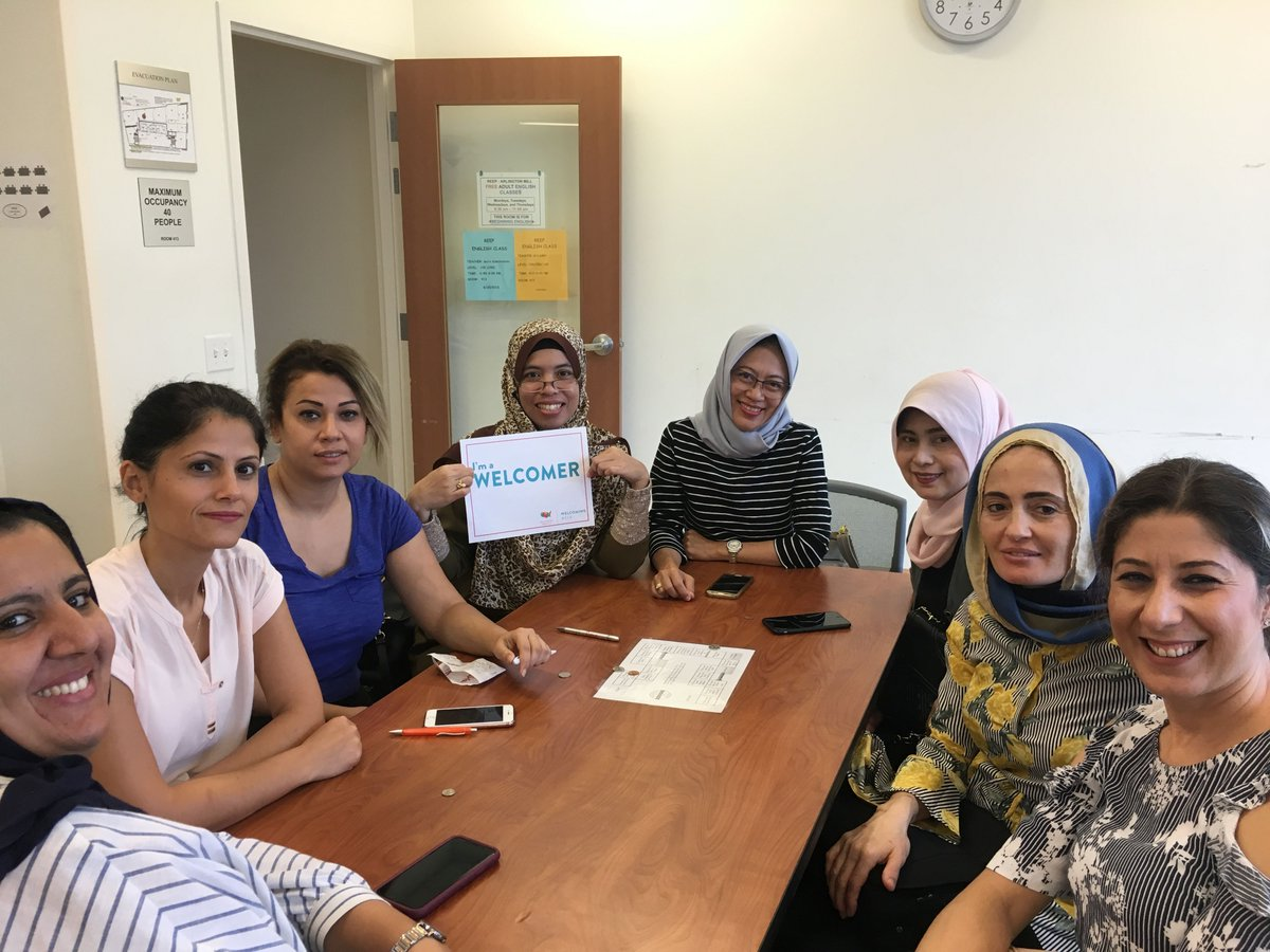 At REEP, we welcome immigrants and refugees because they bring a lot to the table. Pictured are students at our Outreach Center Welcoming Week event <a target='_blank' href='http://search.twitter.com/search?q=arlingtonstrong'><a target='_blank' href='https://twitter.com/hashtag/arlingtonstrong?src=hash'>#arlingtonstrong</a></a> <a target='_blank' href='http://search.twitter.com/search?q=welcomingweek'><a target='_blank' href='https://twitter.com/hashtag/welcomingweek?src=hash'>#welcomingweek</a></a> <a target='_blank' href='http://search.twitter.com/search?q=welcomingweek2018'><a target='_blank' href='https://twitter.com/hashtag/welcomingweek2018?src=hash'>#welcomingweek2018</a></a> <a target='_blank' href='http://twitter.com/welcomingusa'>@welcomingusa</a> <a target='_blank' href='http://search.twitter.com/search?q=dtlshare'><a target='_blank' href='https://twitter.com/hashtag/dtlshare?src=hash'>#dtlshare</a></a> <a target='_blank' href='https://t.co/W5CMxWJwMa'>https://t.co/W5CMxWJwMa</a>