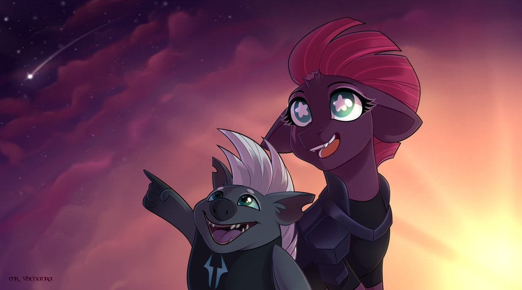 Betos Garcia On Twitter Falling Star Tempest Shadow And Grubber