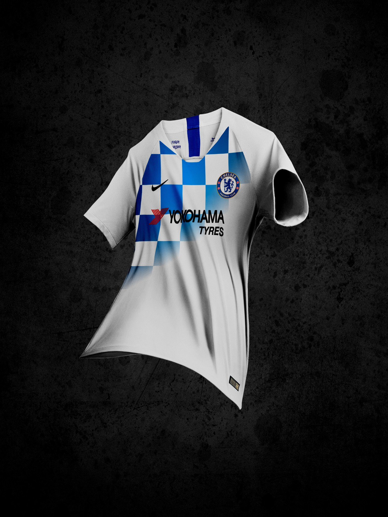 huge discount 63789 d4533 Chelsea's Away Kit Concept for 2019/20 is Doing the Rounds