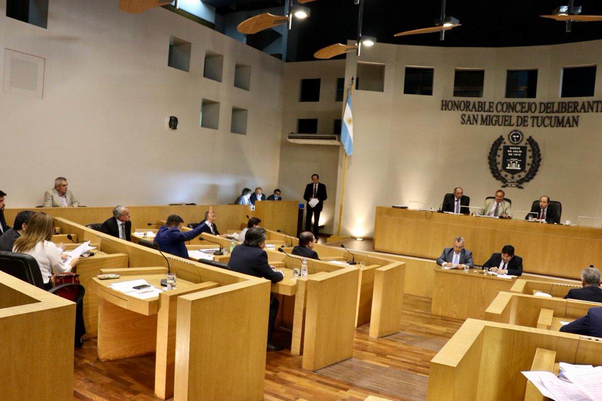 Resultado de imagen para concejo deliberante de san miguel de tucumán