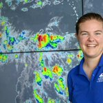 Image for the Tweet beginning: AGU scholarship recipient uses space-based