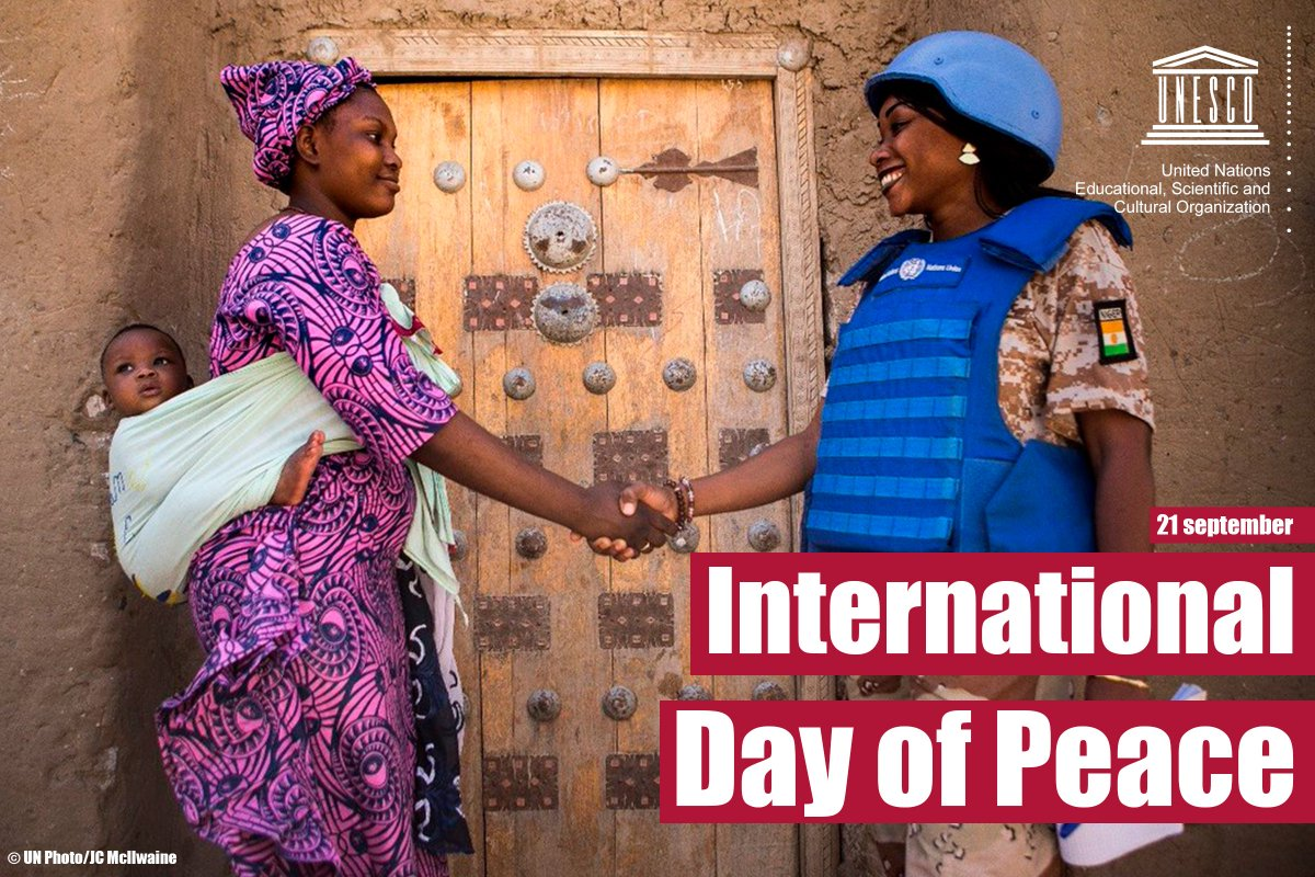 On International #PeaceDay, let's celebrate the power of global solidarity to build a peaceful and sustainable world!  ☮️ https://t.co/ZL5tMNpBKh  🕊️