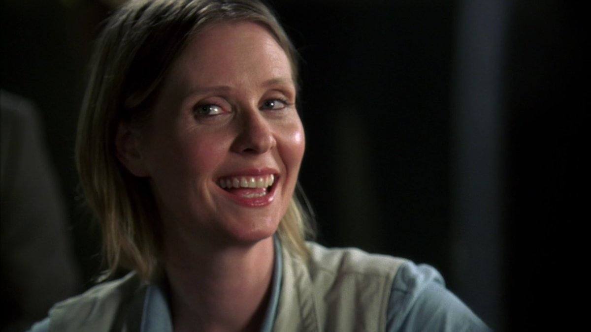When Cynthia Nixon is flirting with you and you&#39;re not sure which personality it is...   #SVU  Alternate 9x01<br>http://pic.twitter.com/QnUcOK34ri