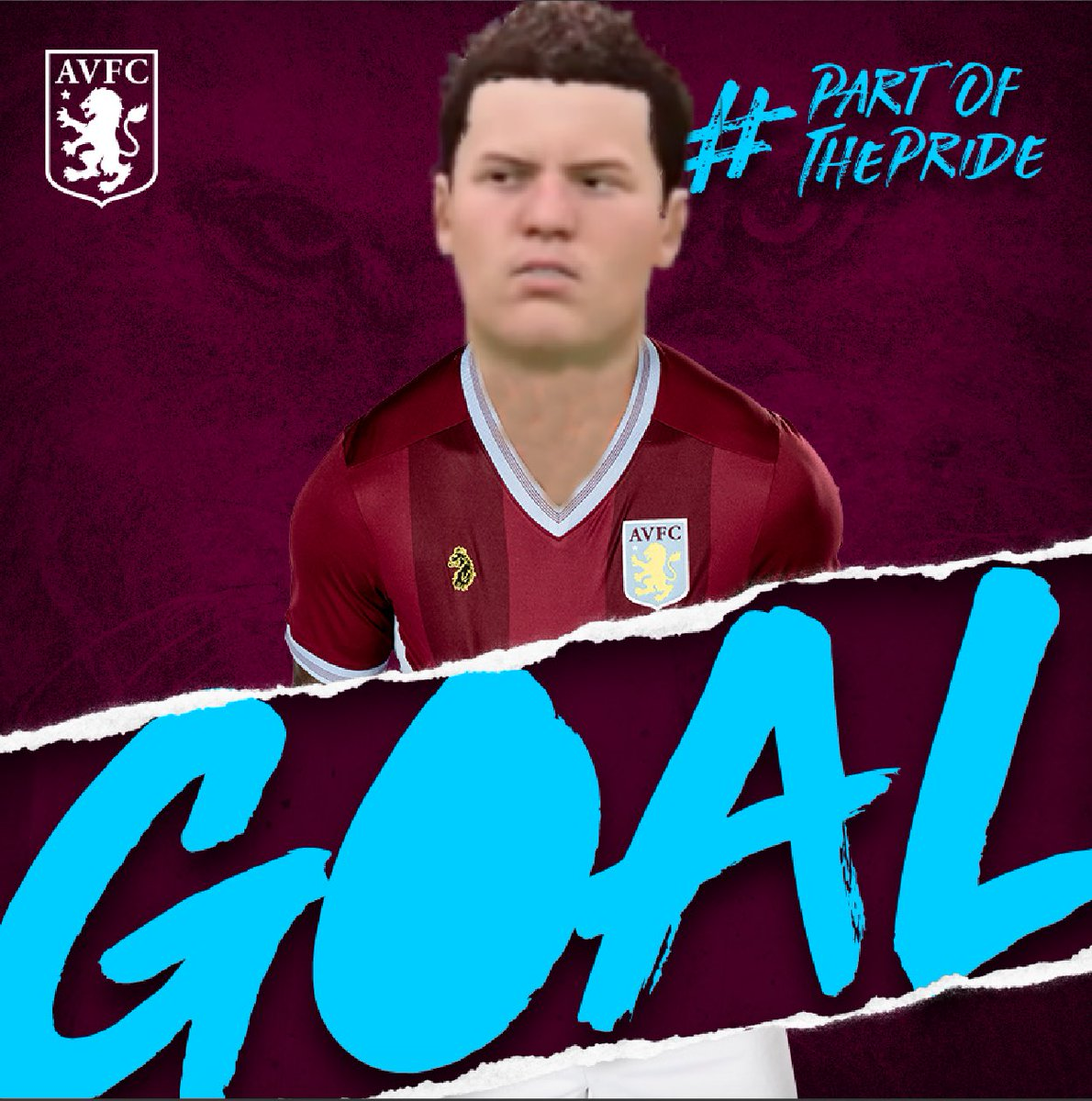 We're ready for your first goal, @jmcginn7...😏😂  #AVFC #FIFA19