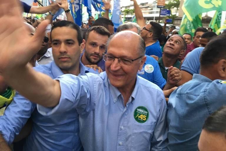 'Haddad não deu conta de SP, vai dar do Brasil?', diz Alckmin em Salvador https://t.co/xcoC0rE2xZ #Eleições2018