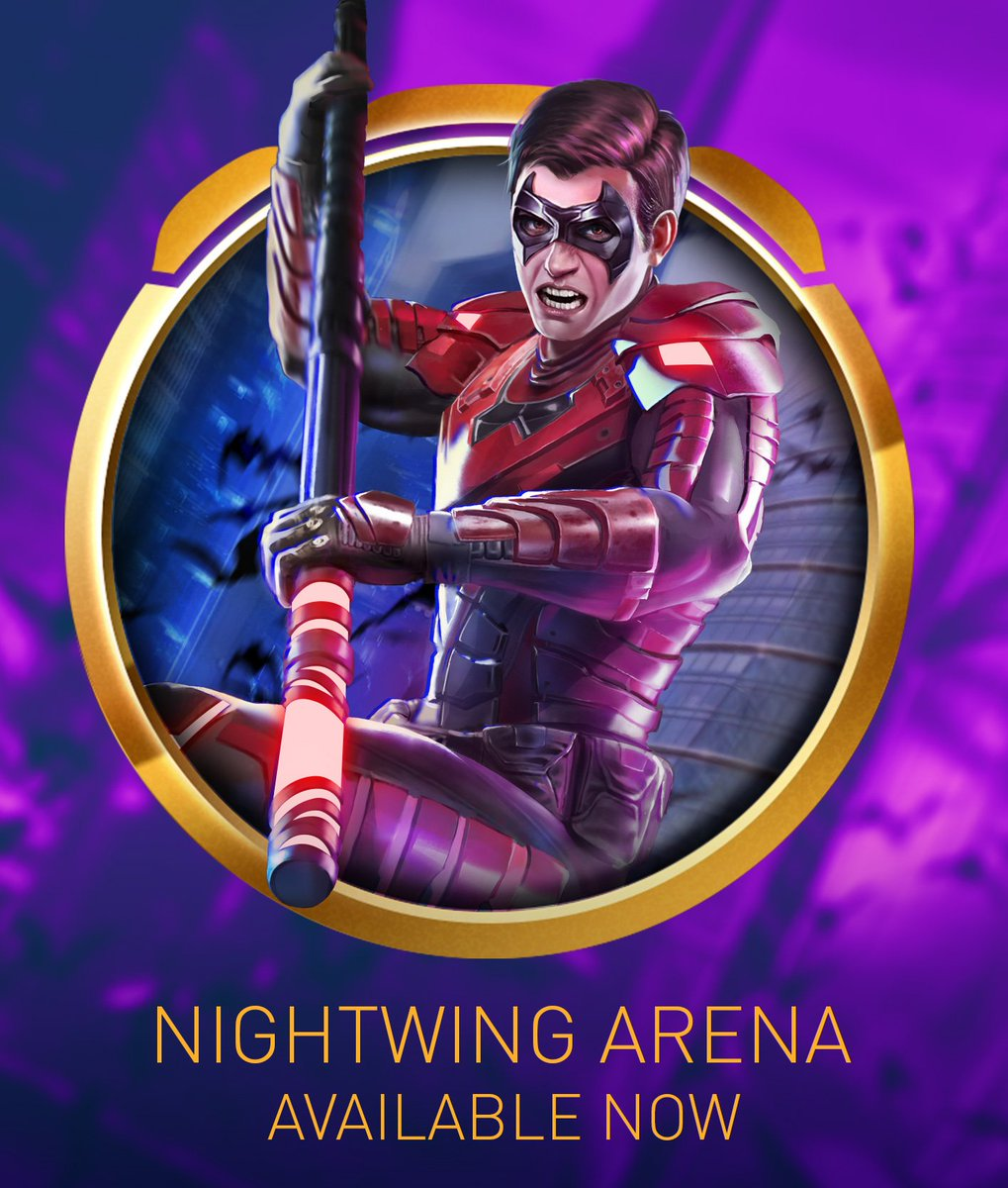 Injustice 2 Mobile On Twitter The Nightwing Arena Season And A Batman Ninja Harley Quinn Invasion Have Begun Use Nightwing S Passive Staff Of Grayson To Generate Power Quickly And Use The Power