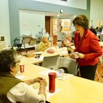 Image for the Tweet beginning: I visited with #seniors at