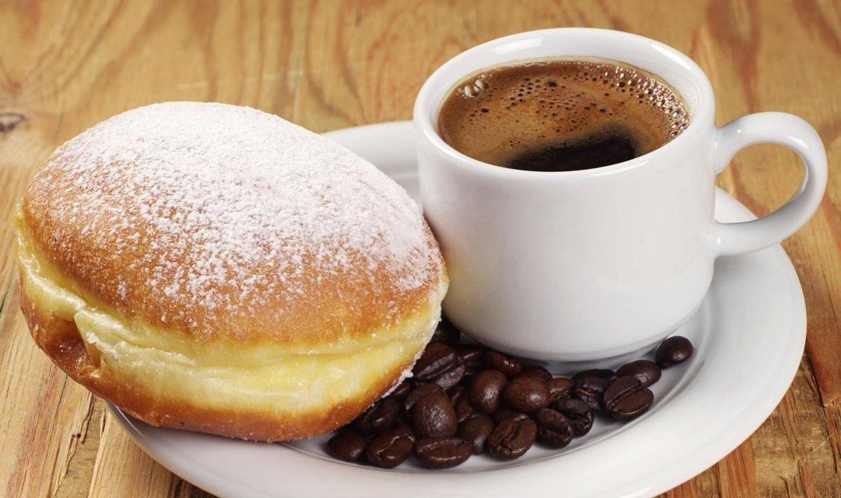 доброе утро картинки пончики днях молодая мамочка