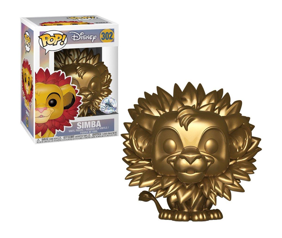RT & follow @OriginalFunko for a chance to WIN an exclusive Gold Simba Pop!