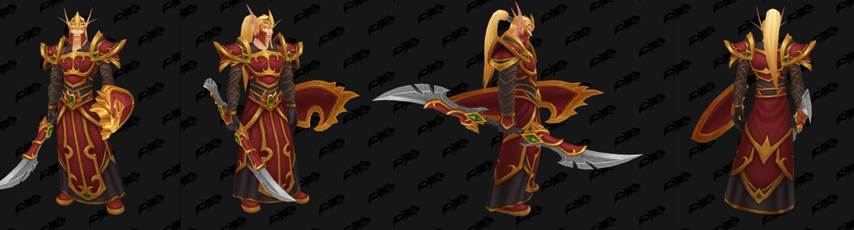 Wowhead On Twitter Here S The Blood Elf Guard Armor With The Weapons Datamined Earlier A Perfect Fit Would You Want This To Be The Heritage Armor For Blood Elves And Not Переглядів 1,2 тис.6 місяців тому. blood elf guard armor with the weapons