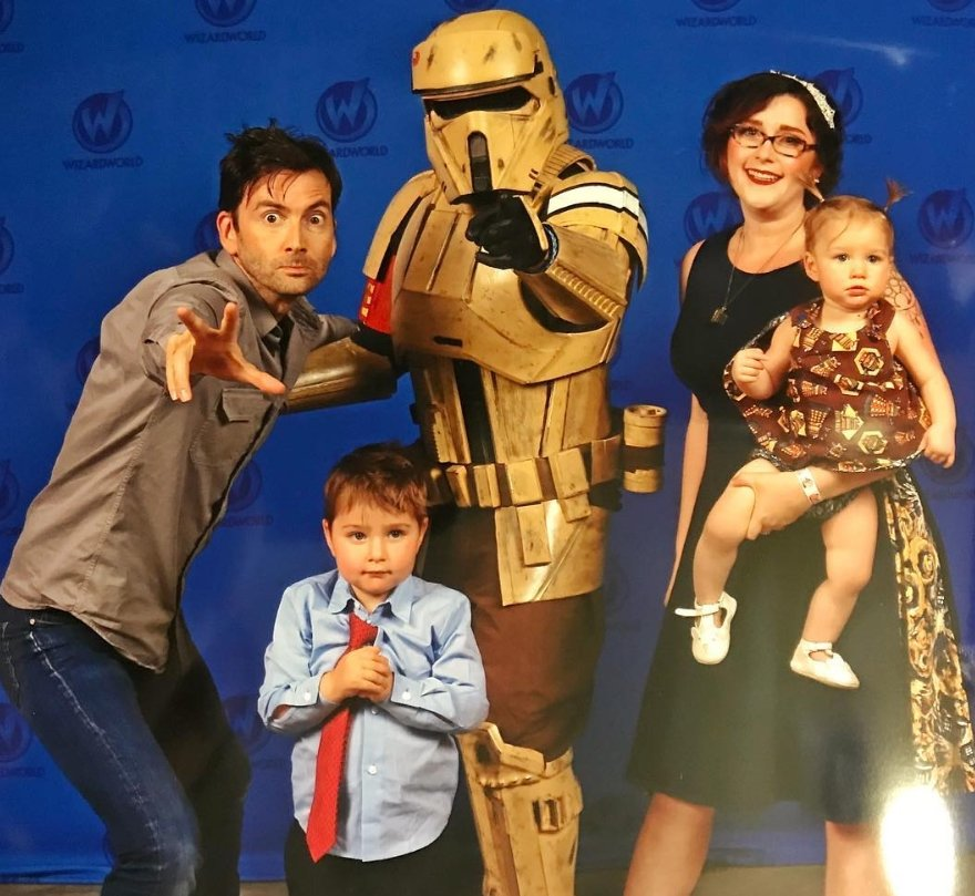 David Tennant at Wizard World Comic Con Austin - Friday 21st September 2018