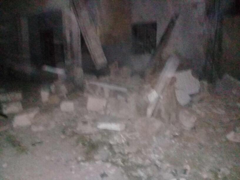 Four rockets fell on Mitiga in Tripoli last night, one on the airport and three on the surrounding area causing damage to the people's properties