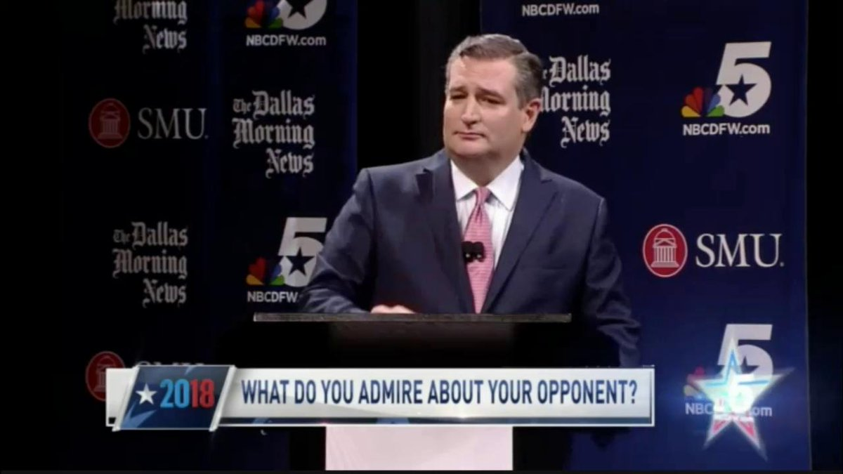 Beto O'Rourke and Ted Cruz spar over National Anthem protests, immigration in contentious debate
