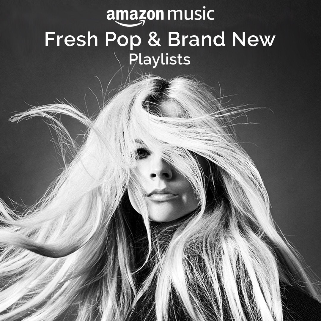 Thank you for the love @amazonmusic �� https://t.co/2NC2WdjXWs